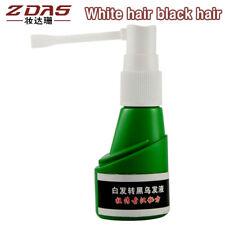 Cure White Hair Turn Gray Black liquid UFA Governance Juvenile White Hair Loss