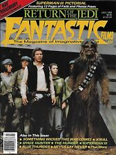 Fantastic Films Issue #34 July 1983 Return Jedi Krull The Hunger *NM/M*