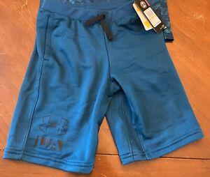 Boys Under Armour Sweat Shorts- Size Medium (10-12) NWT
