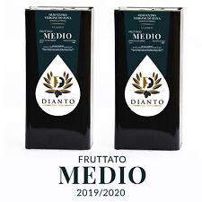 Olio extravergine di oliva Dianto - fruttato medio - 2019/20 - 10 lt - Italiano