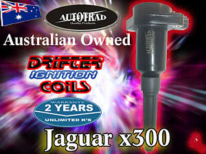 JAGUAR XJ6 XJS XJR Vanden Plas X300 Ignition Coils Set of 6 2yr Wrnt. Free Post
