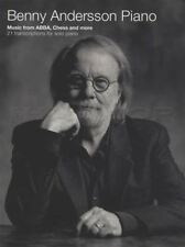Benny Andersson ABBA Chess Songs Learn to Play Piano Music Book Hits My Life