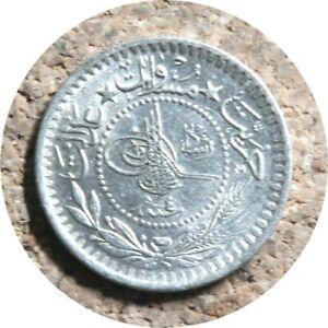 elf Turkey Ottoman Empire 5 Para AH 1327 Yr 4 AD 1912