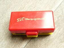 boite de jeux de des et jetons plastique publicitaires SIC Champigneulles