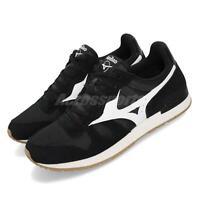 Mizuno ML87 Runbird Black White Gum Men Running Casual Shoes Sneaker D1GA1905-09