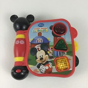 Disney Mickey Mouse Clubhouse Baby Learning Counting Book English Spanish Tested