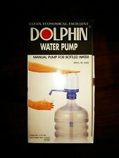 New Dolphin Water Pump 8080 - Manual Pump For 5-6 Gallon Bottle