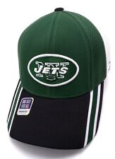 NEW YORK JETS structured green black white fitted cap / hat One Size Reebok