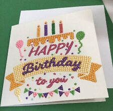 Happy Birthday Diamond Card