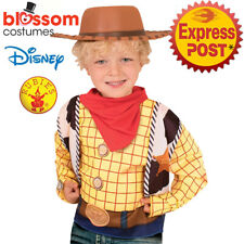 AC642 Woody Cowboy Hat Licensed Toy Story 4 Disney Costume Child Boy Girl Kids