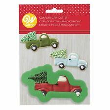 Truck Christmas Tree Comfort Grip Cookie Cutter Wilton