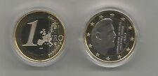 1 euro Pays Bas 2016  proof (belle épreuve) PP. Sous capsule.