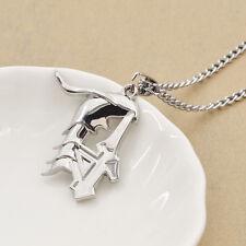 Anime Bleach Ulquiorra Cifer Pendant Necklace Charm Chain Cosplay Fans Gift