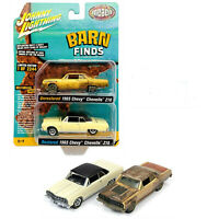 JOHNNY LIGHTNING 2020 BARN FINDS 1965 CHEVY CHEVELLE 2 Pack MIP, LIMITED TO 2244