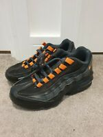 Nike Original Air Max 95 Womens Ladies Black Low-Top Running Trainers Size 3