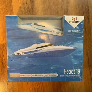 Pro Boat React 9 RTR Self-Righting Deep V Remote Control RC Boat Horizon Hobby