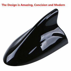High Quality ABS Universal Shark Fin Auto Car Antenna Radio Signal Aerial Black