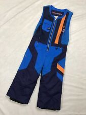 Obermeyer Boys Kids Chill Factor Winter Snowpant Pants Bibs Size 4