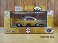M2 Machines Gold 1:64 1957 Chevy Bel Air 60 Years Chevrolet Walmart