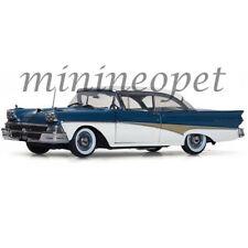SUN STAR 5283 1958 FORD FAIRLANE Around The World 1/18 DIECAST BLUE / WHITE