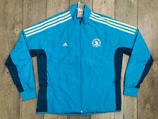 Adidas 2019 Boston Marathon Celebration Jacket Womens Size Large Blue NWT $110
