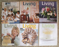6 Martha Stewart Living Magazine Back Issues (2006, 2007, 2014)