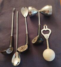 New listing Bar Tools, Golf Design 5 Piece SetDrink Mixing Ball Opener