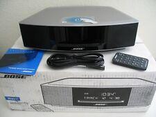 Bose Wave Music System IV AM/FM Radio/CD Player - Platinum Silver w/ Box - Nice