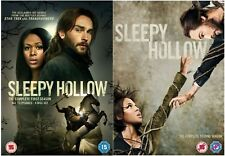 SLEEPY HOLLOW COMPLETE SERIES 1-2 DVD Season Tom Mison Nicole Beharie UK Rel New
