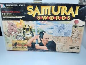 Samurai Swords Board Game 1995 Milton Bradley (Shogun/Ikusa) COMPLETE