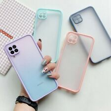 For iPhone 11 Pro Max XS XR 7 8 Plus 6S SE2 Shockproof Matte Silicone Case Cover