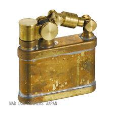 Steampunk Oil Lighter Japanese Duke1 Made JAPAN Antique Wild Brass F/S Stylish