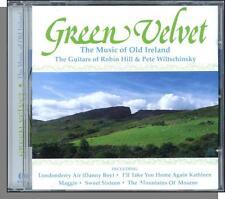 Robin Hill & Pete Wiltschinsky (Guitars) - Green Velvet: Music of Old Ireland CD