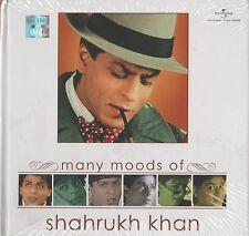 MANY MOODS OF SHAHRUKH KHAN - BRAND NEW SOUND TRACK CD SONGS - FREE UK POST