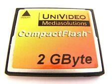 2gb Compact Flash Card (2 GB CF) usato