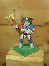 CLASSIC METAL WARHAMMER WARRIORS OF CHAOS WARRIOR WITH AXE PAINTED (2694)