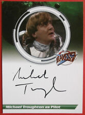 BLAKE'S 7 - MICHAEL TROUGHTON, as Pilot - Autograph Card, Unstoppable Cards 2013