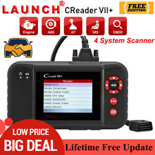 Automotive ABS Airbag Engine Diagnostic Tool OBD2 Code Reader LAUNCH X431 VII+