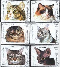 Afghanistan 1726-1731 (kompl.Ausg.) gestempelt 1997 Katzen