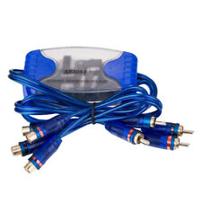 4-Channel RCA Audio Noise Filter Suppressor Ground Loop Isolator Car Stereo_S