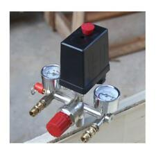 175PSI Air Compressor Pressure Switch Control Valve Manifold Gauges Regulator