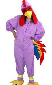 ★ Party Chicken Hahn Huhnkostüm Hühnchen KinderKostüm Kinder Plüsch 116-128