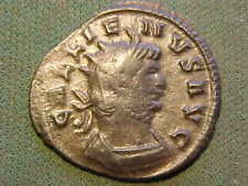Roman bronze Antoninianus of  Gallenius  253-268 AD. good very fine condition.