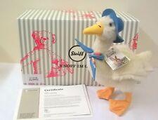 355219 Steiff Beatrix Potter Jemima Puddle Duck Movie Edition Mohair 30 cm