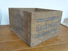 N5818 Schöne, alte Holzkiste ~ Kathreiner Kneipp - Malzkaffee ~ RAR!