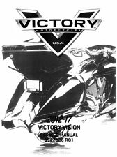 Victory Vision 2012 2013 2014 2015 2016 2017 repair service manual in binder