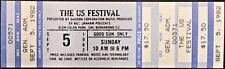 US FESTIVAL -- 1982 FULL & UNUSED CONCERT TICKET -- FLEETWOOD MAC, GRATEFUL DEAD
