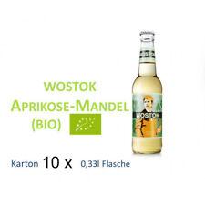 Wostok Aprikose Mandel 10 Flaschen je 0,33l