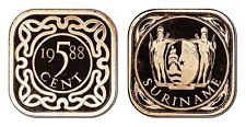 SURINAME 5 CENTS 1988 (GEM PROOF) *ONLY 1,500 MINTED*