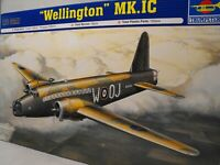 MODEL WELLINGTON 1:72  plastic construction model kit RAF VICKERS WW2 BOMBER KIT